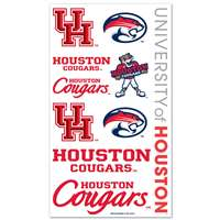 Houston Cougars Temporary Tattoos