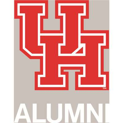 Houston Cougars Transfer Decal - Alumni