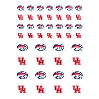 Houston Cougars Small Sticker Sheet - 2 Sheets