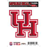 Houston Cougars Repositionable Vinyl Decal