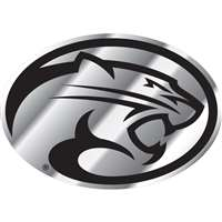 Houston Cougars Chrome Plastic Auto Emblem