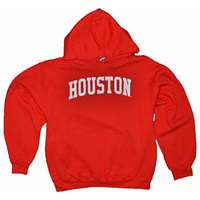 Houston Hooded Sweatshirt, Red