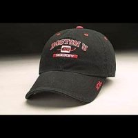 Boston U Hat - Black Adjustable By Zephyr
