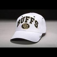 Colorado Buffaloes Hat - White Adjustable By Zephyr