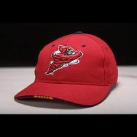 Iowa State Hat - Red Adjustable By Zephyr