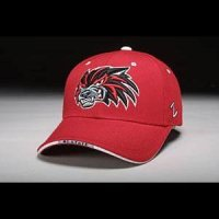 North Carolina State Hat - Red Adjustable By Zephyr