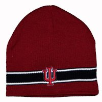 Indiana Hoosiers Knit Hat - Top Of The World Dasher Knit Beanie Cap