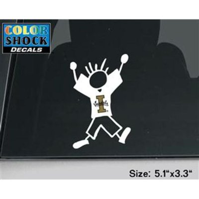 Idaho Vandals Decal - Dad Outline W/ Logo