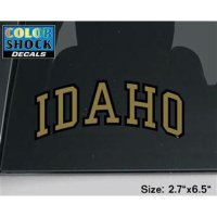Idaho Vandals Decal - Arched Idaho