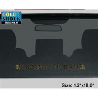 Idaho Vandals Decal Strip - Logos W/ University Of Idaho