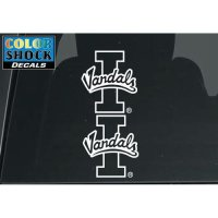 Idaho Vandals Tail Light Transfer Decal - 2 Pack