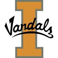 Idaho Vandals Perforated Vinyl Window Decal