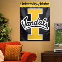 Idaho Vandals Banner/vertical Flag 27 X 37 Inch - Alt Color - Bright Yellow