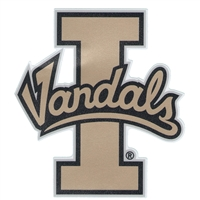 "Idaho Vandals 4""x4"" Transfer Decal"