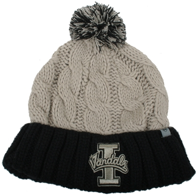 5c21ee746d8ef Idaho Vandals Top of the World Womens Gust Pom Knit Beanie