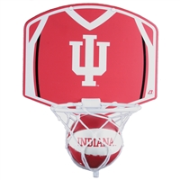 Indiana Hoosiers Mini Basketball And Hoop Set