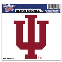"Indiana Hoosiers Ultra Decal 5"" x 6"""