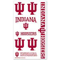 Indiana Hoosiers Temporary Tattoos