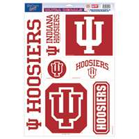 Indiana Hoosiers Ultra Decal Set - 11'' X 17''