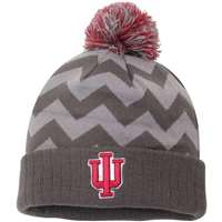 Indiana Hoosiers Top of the World Ladies Chevron Knit