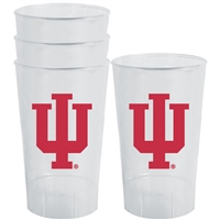 Indiana Hoosiers Plastic Tailgate Cups - Set of 4