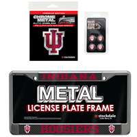 Indiana Hoosiers 3 Piece Automotive Fan Kit