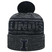 Illinois Fighting Illini Top of the World Sock It 2 Me Knit Beanie