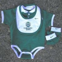 Colorado State College Baby Set - Nike