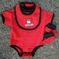 Maryland College Baby Set - Nike