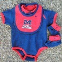 Mississippi College Baby Set - Nike