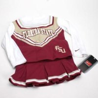 Florida State Toddler 2-piece Long Sleeve Cheerleader Outfit By Nike