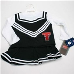 Texas Tech Toddler 2-piece Long Sleeve Cheerleader Outfit By Nike