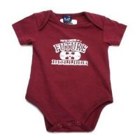 Mississippi State Bulldogs - Newborn One-n-all