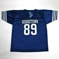 Georgetown #89 Youth Football Jersey - Navy