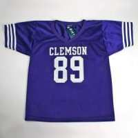Clemson #89 Youth Football Jersey - Purple