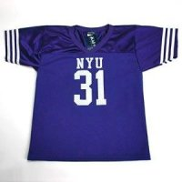 Nyu Bobcats #31 Youth Football Jersey - Navy