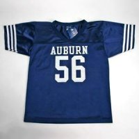 Auburn #56 Youth Football Jersey - Navy
