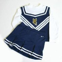 Marquette Toddler 2-piece Long Sleeve Cheerleader Outfit By Nike