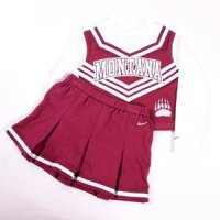 Montana Toddler 2-piece Long Sleeve Cheerleader Outfit By Nike New!