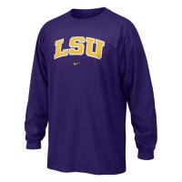 Lsu Nike Youth Classic L/s Tee