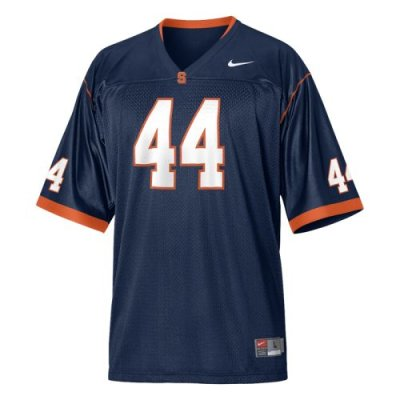detailed pictures 2a1ed f408a Syracuse Orangemen Youth Football Jersey - Nike Replica Gameday Jersey -  Navy #44