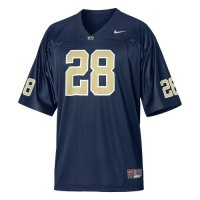 Pittsburgh Panthers Youth Football Jersey - Nike Replica Gameday Jersey - Navy #28