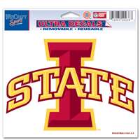 "Iowa State Cyclones Ultra Decal 5"" x 6"""