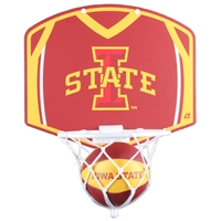 Iowa State Cyclones Mini Basketball And Hoop Set