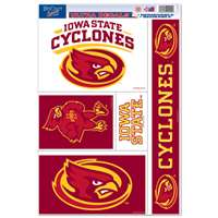 Iowa State Cyclones Ultra Decal Set - 11'' X 17''