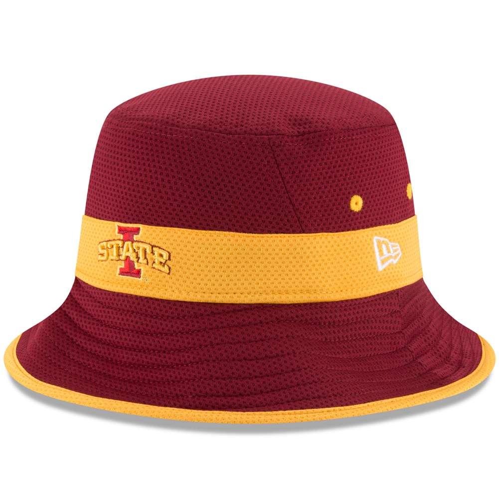 Iowa State Cyclones New Era Training Bucket Hat - Maroon d266ad24d95
