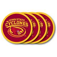 Iowa State Cyclones Coaster Set - 4 Pack