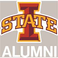 Iowa State Cyclones Transfer Decal - Alumni