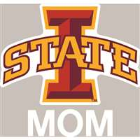 Iowa State Cyclones Transfer Decal - Mom