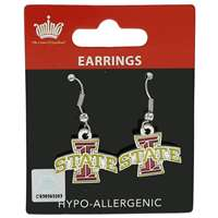 Iowa State Cyclones Dangler Earrings